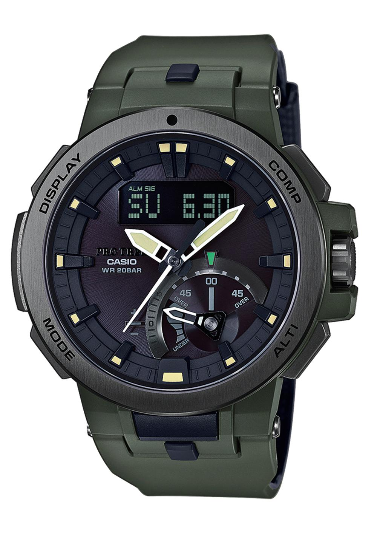 Casio pro trek outdoor multifunction solar radio controlled watch nur for Outdoor watches