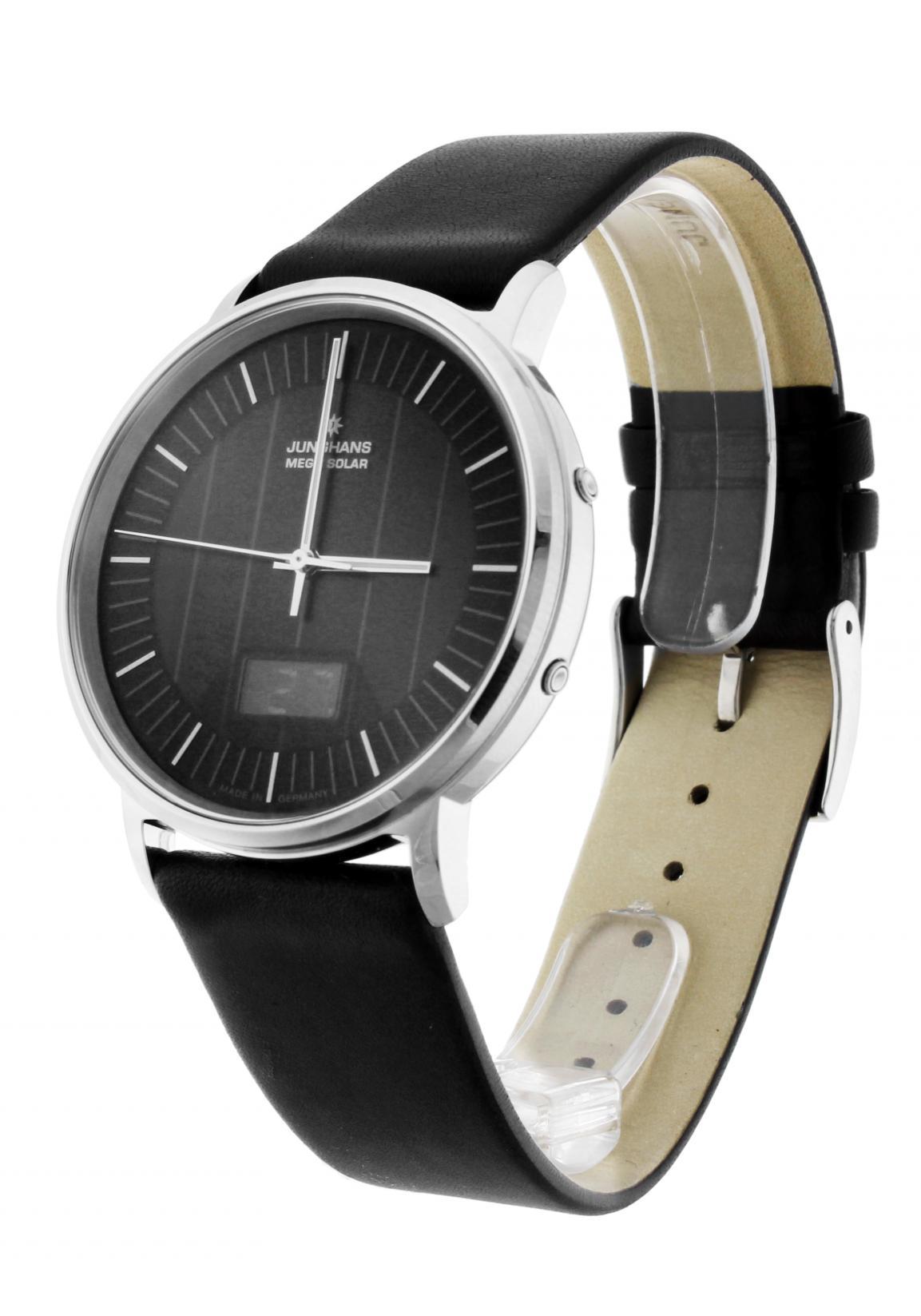 junghans milano mega solar radio controlled watch nur 539 00