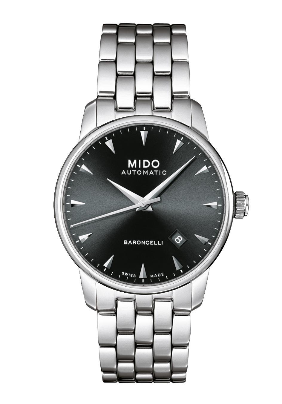 Mido Baroncelli Ii Mens Watch Automatic M86004181 Nur 68000 Tissot Prc 200 T0554301105700 Black Official Dealer