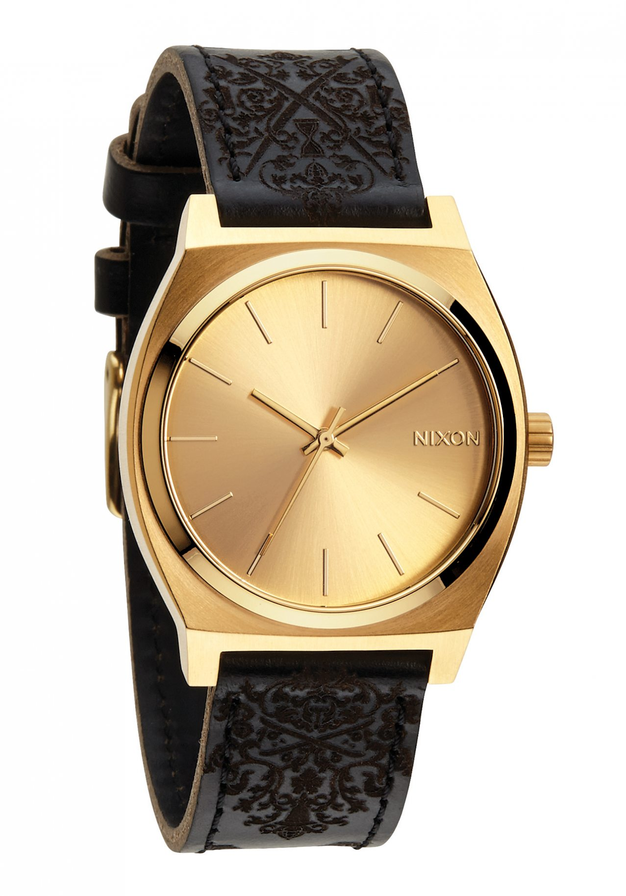 watch watches nixon all time teller gold youtube