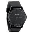 Nixon The Sentry Leather All Black men´s watch