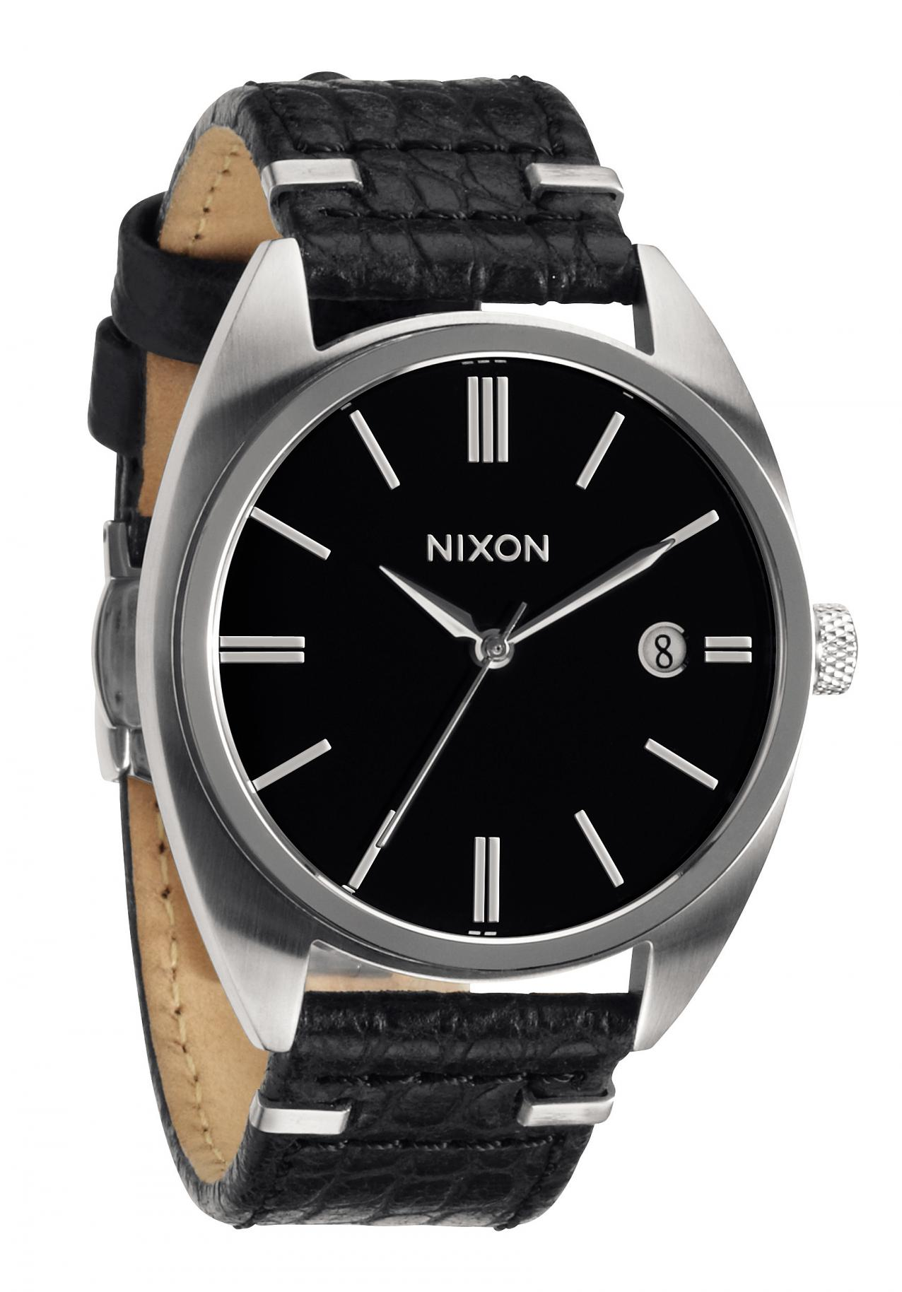 nixon the supremacy black automatic watch a353000 nur. Black Bedroom Furniture Sets. Home Design Ideas