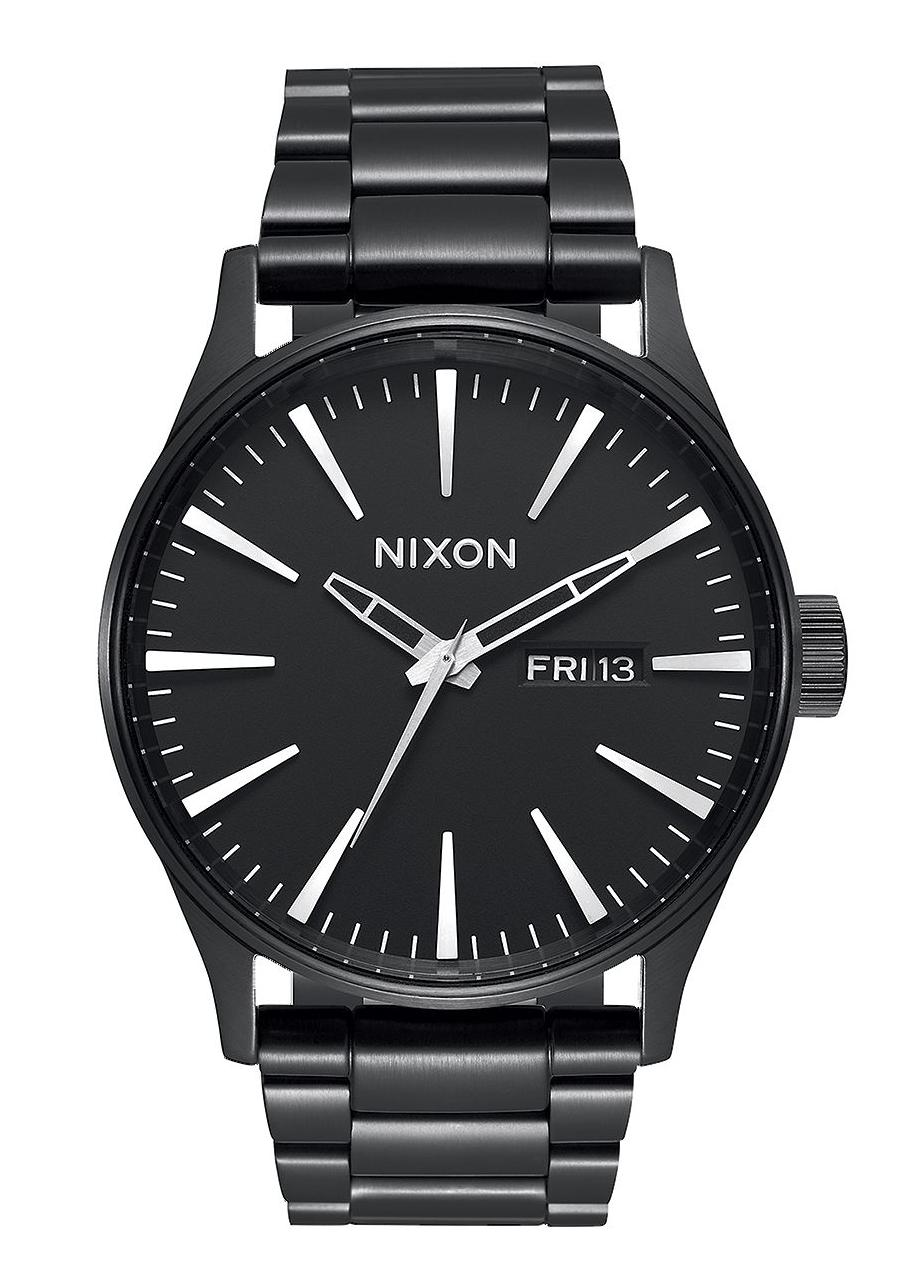nixon the sentry ss all black men s watch a356001 nur. Black Bedroom Furniture Sets. Home Design Ideas