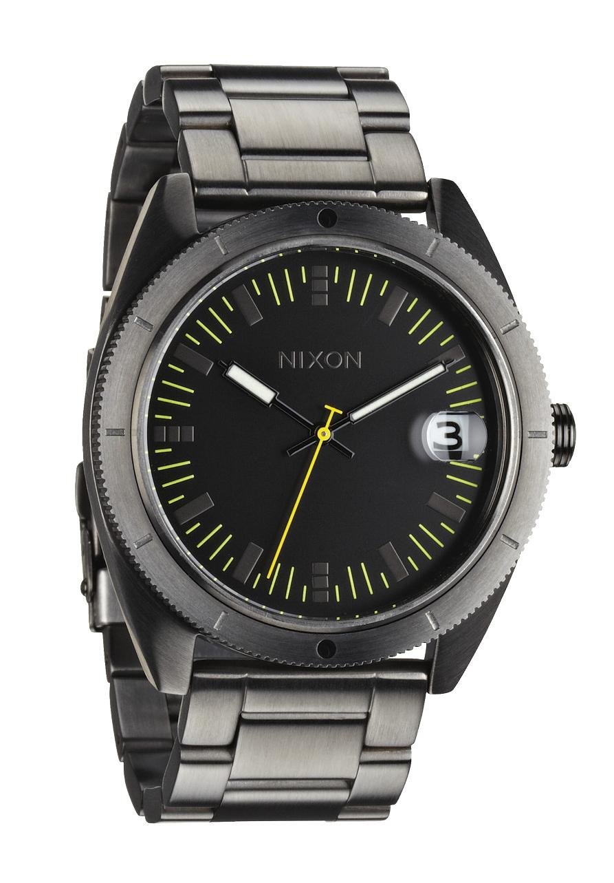 nixon the rover ss ii all gunmetal men s watch a359632 nur. Black Bedroom Furniture Sets. Home Design Ideas