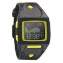 Nixon The Small Lodown All Black / Lime ladies´ watch