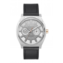 STAR WARS | Nixon The Time Teller Deluxe Leather Star Wars Phasma Black