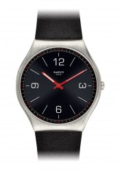 Swatch Skinblack wrist watch
