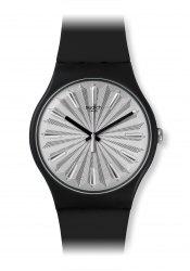 Swatch Silver Shield wrist watch