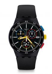 Swatch Black-One wrist watch