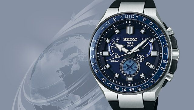 GPS world time watches